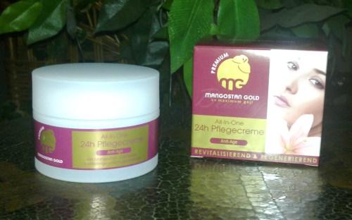 mangostan gold - produkt pflegecreme