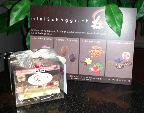 mini schoggi - produkt schokowürfel