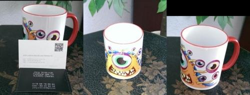 freude und farben - produkt tasse