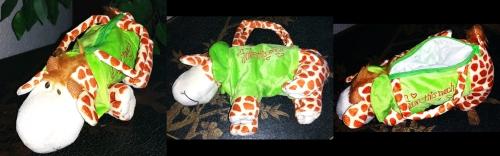 kinder handtasche giraffe