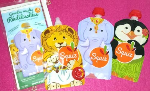 sqizz - produkte 3 quetschtüten