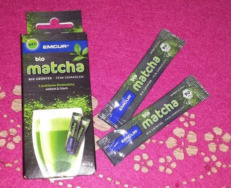 bio matcha sticks - produkt