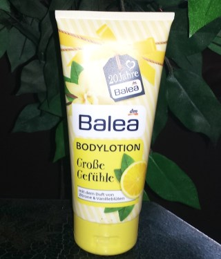 balea - body lotion große gefühle