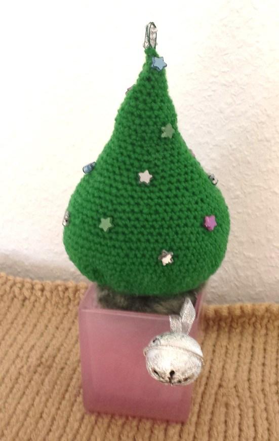 gehäkelter weihnachtsbaum