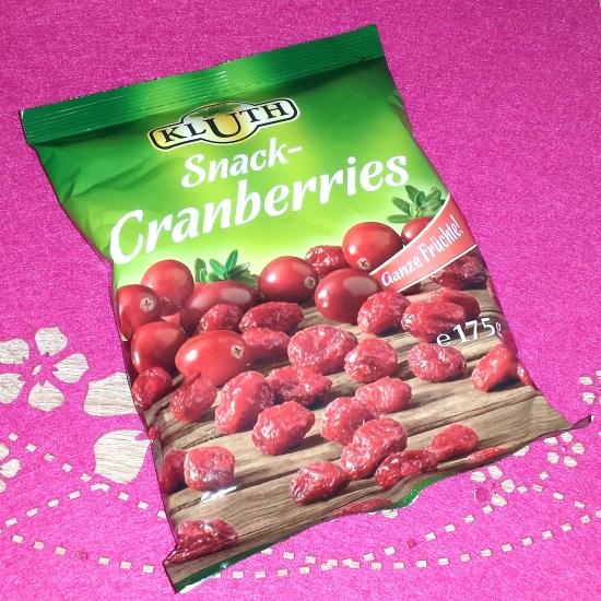 kluth snack cranberry ganze früchte