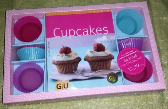 cupcake form und buch