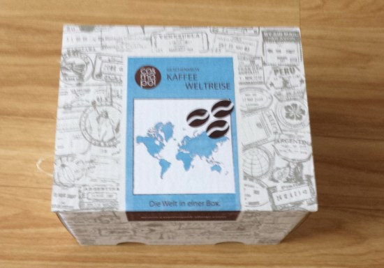 geschenkbox kaffee reise 1