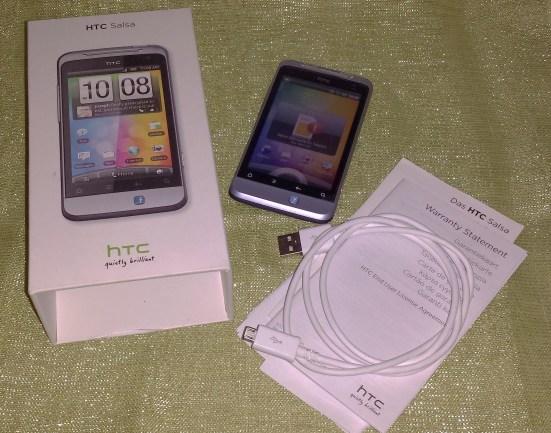 htc salsa smartphone