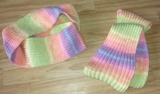 loopschal regenbogenfarben 2 re 2 li
