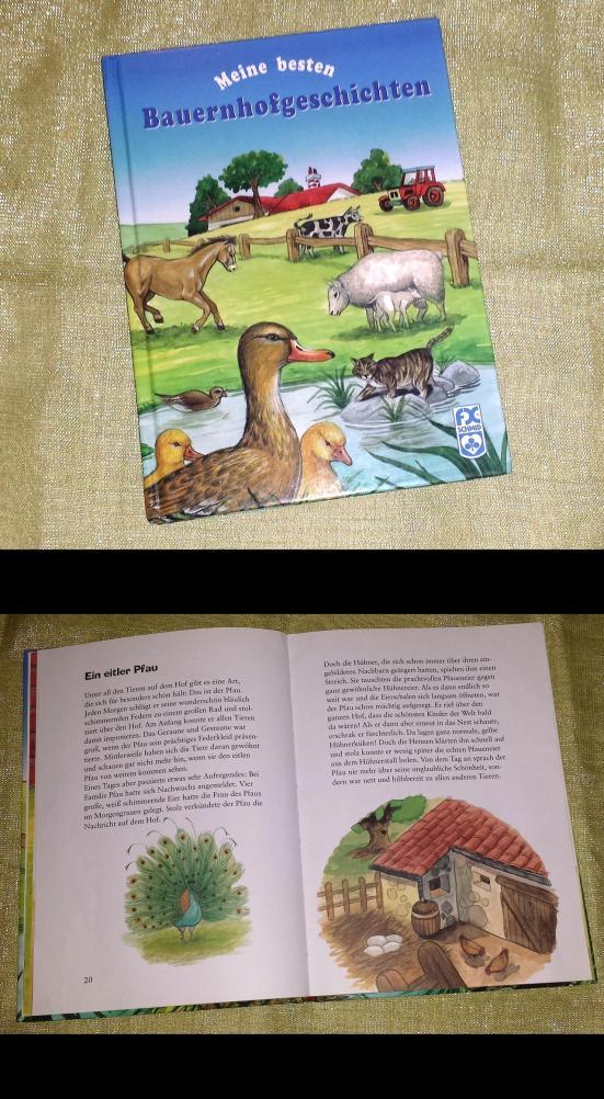meine besten bauernhofgeschichten - kinderbuch