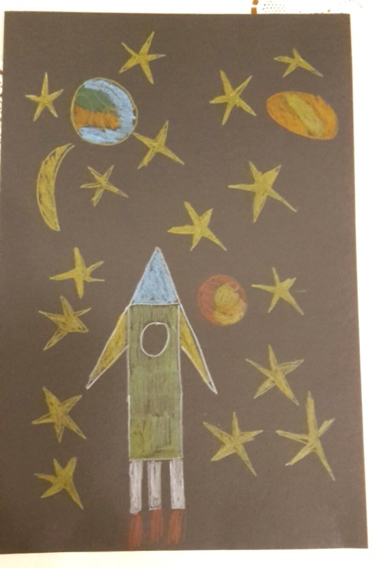 sandmann bild 2 rakete
