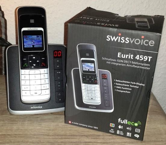 swissvoice eurit 459t isdn telefon