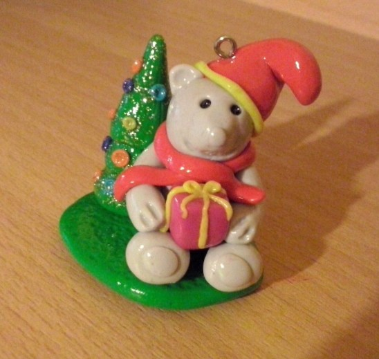 fimo-weihnachtsteddy