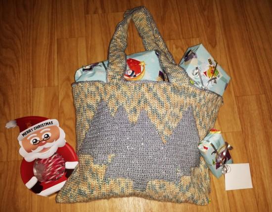 handarbeiten diy weihnachtsgeschenkbeutel