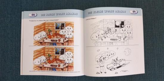 Die kleine Wolke Ananas - Kinderbuch