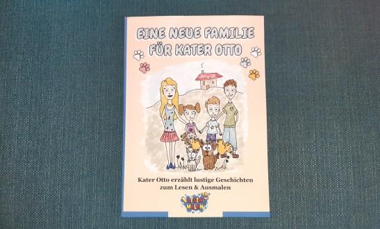 Eine neue Familie für Kater Otto - Kinderbuch
